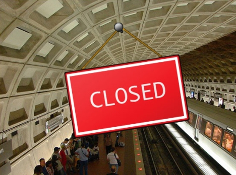 washington-dc-metro-subway-closed